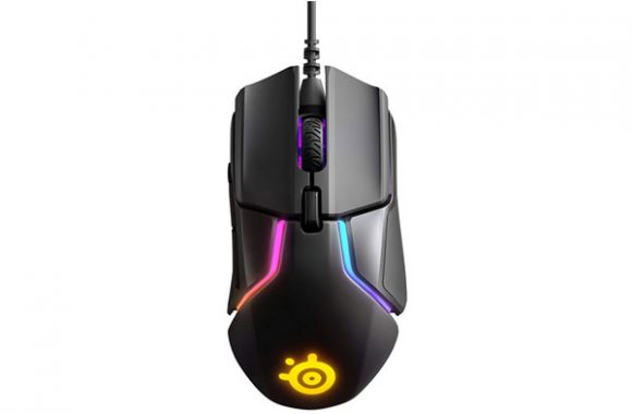 STEELSERIES RIVAL 600 BLACK WITH TRUEMOVE3+ DUAL SENSOR