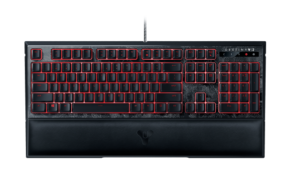Destiny 2 Razer Ornata Chroma – Multi-color Membrane Gaming Keyboard